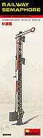 Семафор железнодорожный. Сборная пластиковая модель. 1/35 MINIART 35566