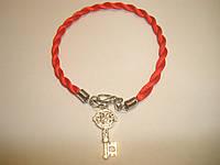 Браслет Красная нить Кабала «Ключ», фото 1