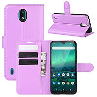 Чехол Luxury для Nokia 1.3 книжка фиолетовый