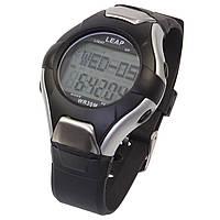 Електронні спортивні наручні чоловічі Чоловічі годинники Leap PC2008 сірі