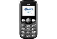 Мобильный телефон Nomi i177 black (Бабушкофон)