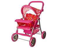 Детская коляска 9337 ET/005 железная, прогулочная, корзинка, регулируется ручка