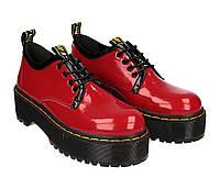 Туфли женские кожаные Wright MARTINS TUF размер 36 красные