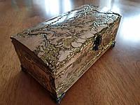 Шкатулка из Дерева ручной работы