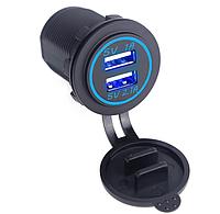 Автомобильное зарядное устройство Car Charger 2*USB 3.1 А