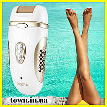Эпилятор женский для ног Rozia HB-6007 4 в 1.Дипилятор,электробритва