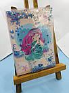 Блокнот з водою і блискітками А5, 80 аркушів Русалка, фото 2