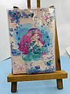 Блокнот з водою і блискітками А5, 80 аркушів Русалка, фото 4