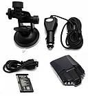Автомобильный видеорегистратор DVR, HD, обзор 120° ночное видения, видео регистратор в авто, фото 7