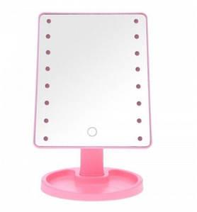 Зеркало с LED подсветкой прямоугольное (22 LED) (w-13) (w-2) (36)