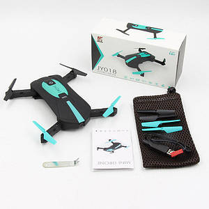 Квадрокоптер селфи-дрон JY018 (60)