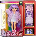Лялька Rainbow High Мосту Хай Вайолет Віллоу фіолетова Violet Willow MGA, фото 5