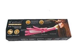 Плойка-утюжок Kemei GB-KM 987 3в1 (40)