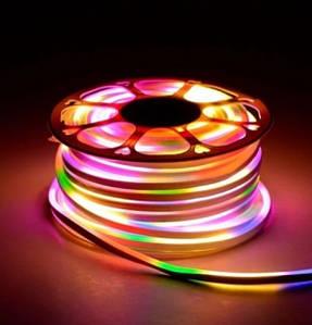 Лента Neon бухта 5м 220V (Микс) 7180 (20)