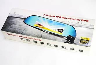 Зеркало-видеорегистратор с камерой заднего вида DVR H10 Full HD