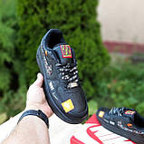 🔥 Мужские кроссовки повседневные Nike Air Force 1 x Off-White Low Just Do It Pack Чёрные (найк аирфорс), фото 5