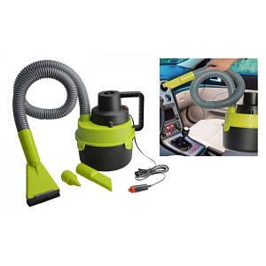 Автомобильный пылесос Black Wet & Dry Auto Vacuum Cleaner