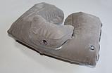 Надувная подушка под шею Tramp Lite Комфорт TLA-008 Gray, фото 2