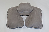 Надувная подушка под шею Tramp Lite Комфорт TLA-008 Gray, фото 3