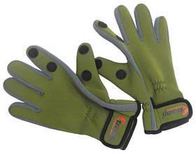 Перчатки Tramp TRGB-002-L из неопрена Green