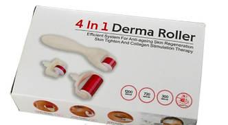 Мезороллер для лица и теда DMS 4 в 1