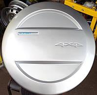 колпак запасного колеса niva chevrolet белый