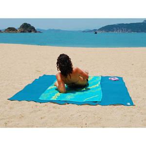 Пляжный коврик подстилка антипесок Sand-free Mat