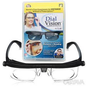 Очки с регулировкой линз Dial Vision Adjustable Lens Eyeglasses (от -6D до +3D)