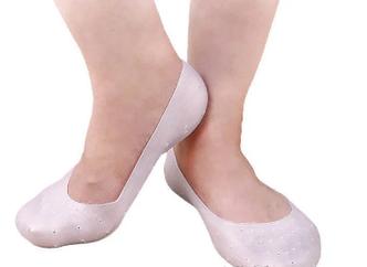 Силиконовые увлажняющие носочки против трения стопы с супинатором Anti-Crack Silicone Socks