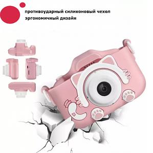 Детский цифровой фотоаппарат  Summer Vacation на 2 камеры