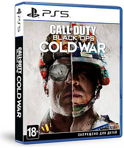 Диск с игрой Call of Duty: Black Ops Cold War [Blu-Ray диск] (PlayStation 5)