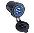 Зарядное автомобильное устройство Car Charger 2*USB 3.1А, фото 3