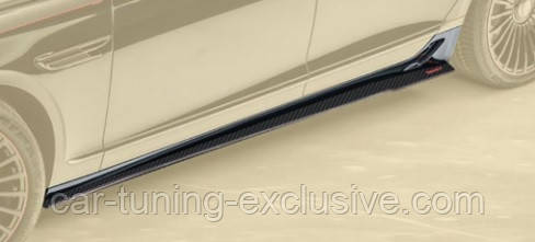 MANSORY side skirts for Bentley Flying Spur 3