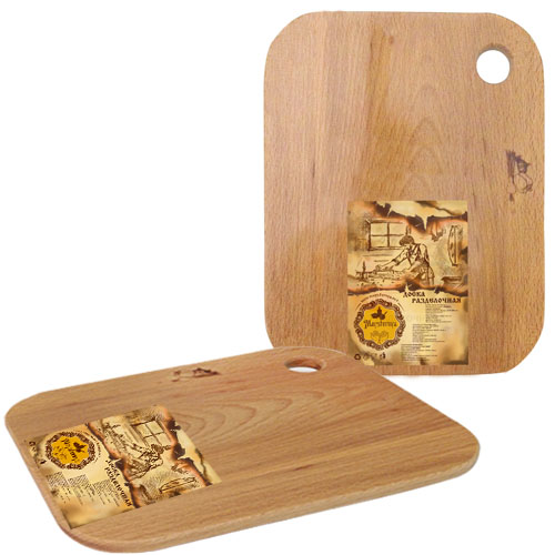 Доска разделочная деревянная S&T 20 x 25 x 1,5 см