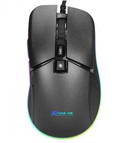 Мышь проводная игровая XTRIKE ME Gaming Backlight GM-310 Black