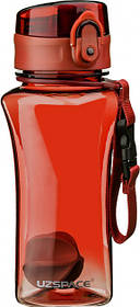 Бутылка для воды Uzspace 6005 350 мл Red