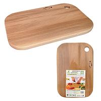 Доска разделочная деревянная для рыбы S&T 20 x 30 x 1,5 см