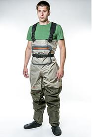 Забродные штаны-вейдерсы Tramp Angler TRFB-004-XL