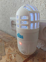 Лампа и ультразвуковой отпугиватель грызунов и насекомых Atomic Zabber 2 в 1