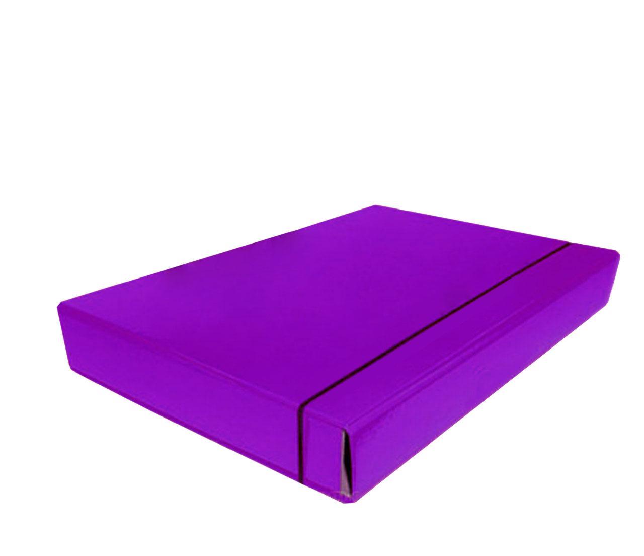 Папка-короб на резинке, А4, 40 мм, PP-покрытие
