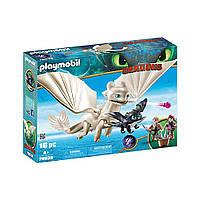 """Игровой набор """"Дневная фурия с детьми"""" Playmobil Light Fury with Baby Dragon and Children (4008789700384), фото 1"""