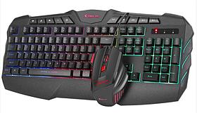 Комплект проводной клавиатура и мышь XTRIKE ME MK-880KIT