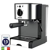 Электрическая рожковая кофеварка эспрессо Magio MG-960 кофемашина