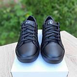 🔥 Кроссовки женские повседневные Calvin Klein Чёрные кожаные (кельвин кляйн), фото 8