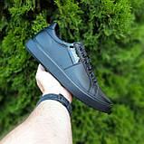 🔥 Кроссовки женские повседневные Calvin Klein Чёрные кожаные (кельвин кляйн), фото 10