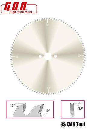 Пила для поперечного реза 300x30x2,0/1,4 z72 с екстратонким пропилом, фото 2