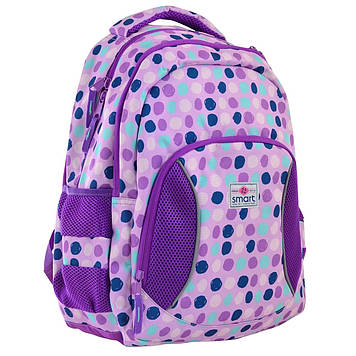 "Рюкзак ""Smart"" Violet spots 2від.,1карм. №SG-25/557079"