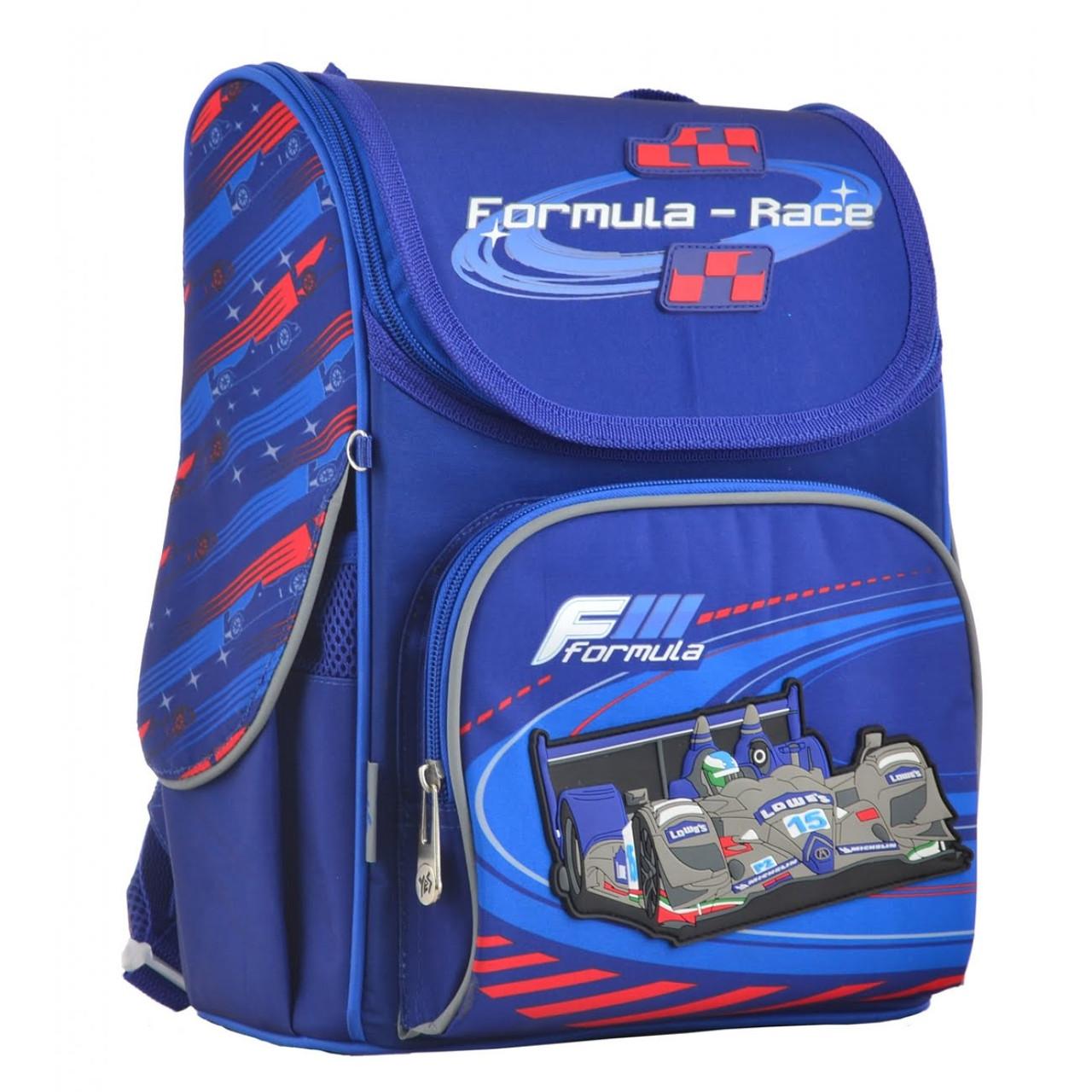 """Ранець каркасний """"1В"""" Formula-race 1від.,3карм.,33,5х26х13,5см №555142/H-11(4)"""