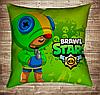 Подушка 3D - Бравл Старс Leon Фейс Brawl Stars