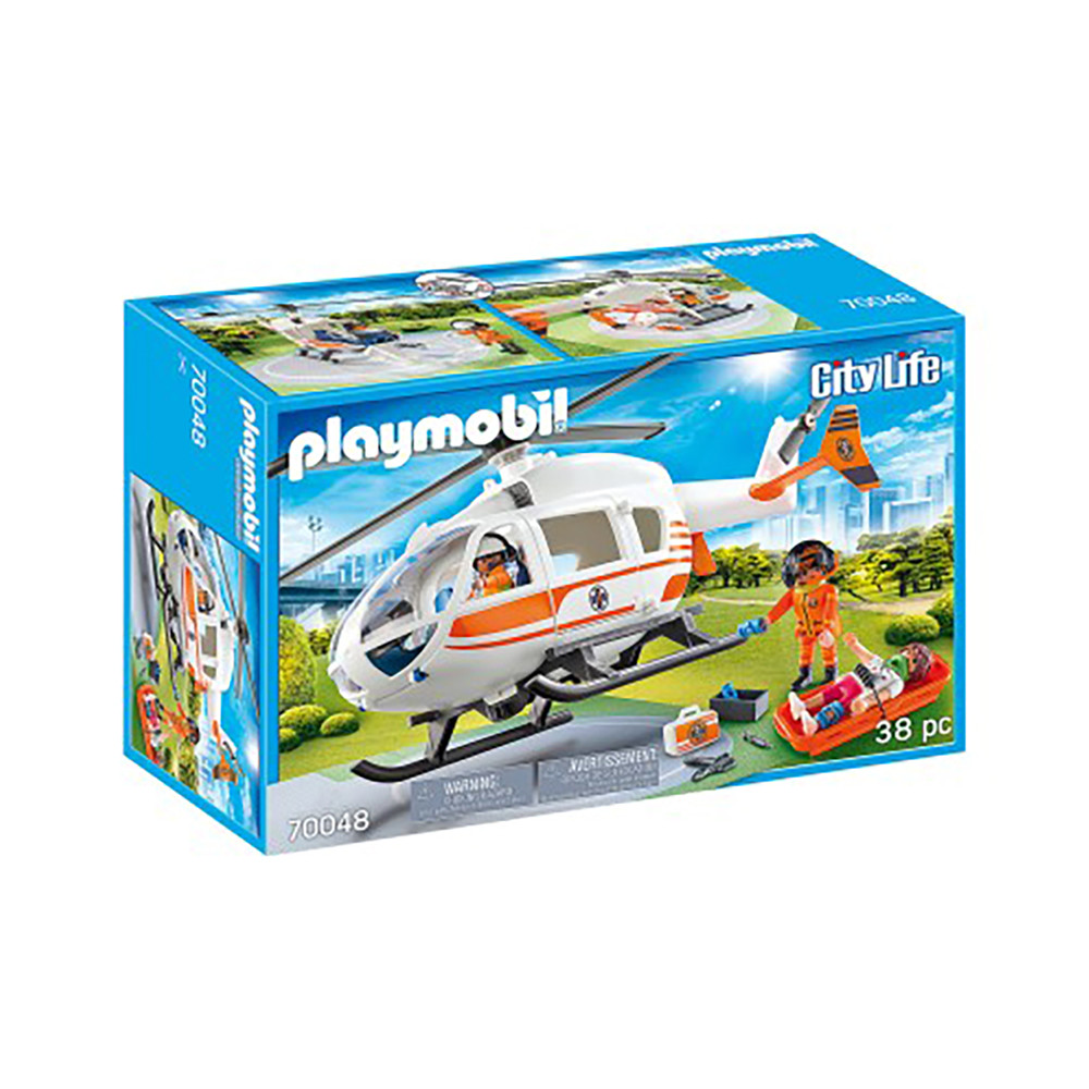 """Ігровий набір """"Рятувальний вертоліт"""" Playmobil (4008789700483)"""